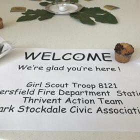 Girl Scouts treat seniors